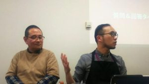 同性カップルのこういちろう(左)とりゅうや(右)。二人は当団体の運営スタッフでもあります。