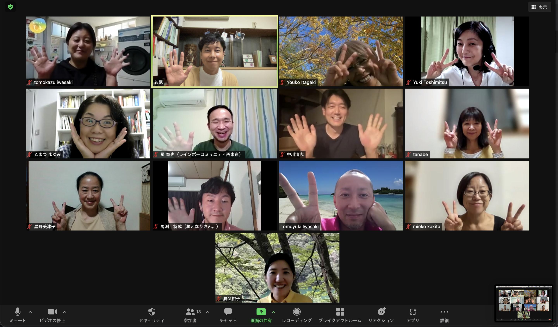 ノーマライゼーション西東京の会(ノマ西東京)でお話をさせていただきました。